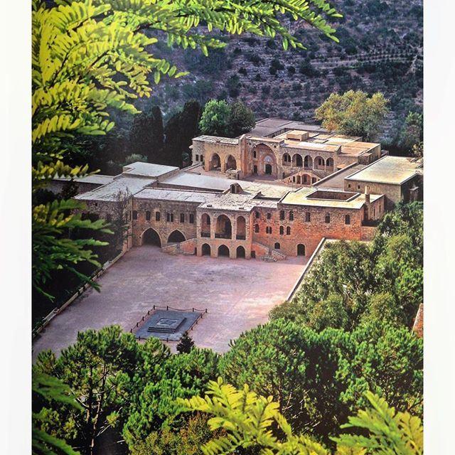 قصر بيت الدين ١٨٣٦ - Beiteddine Palace 1836 .