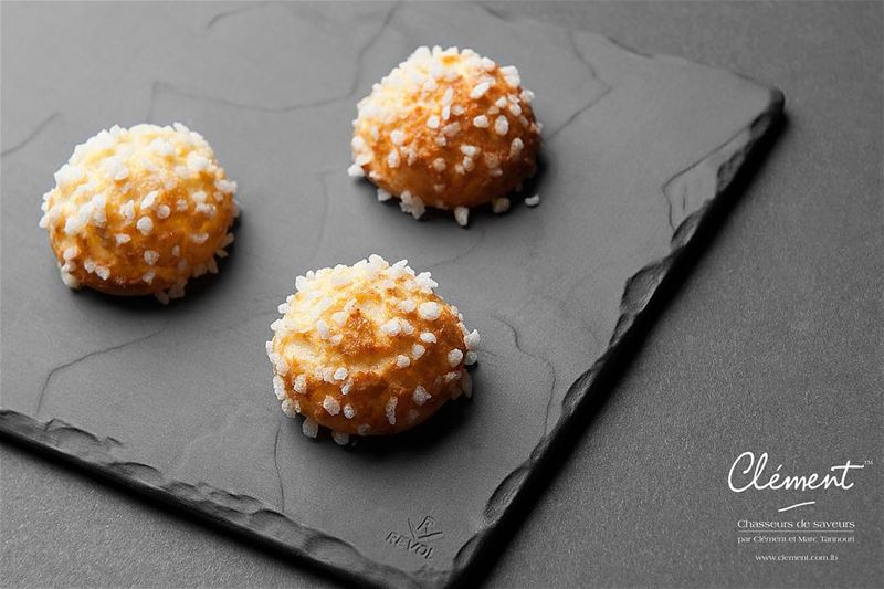 """Chouquettes"" are cream puffs made of choux pastry and sprinkled with..."