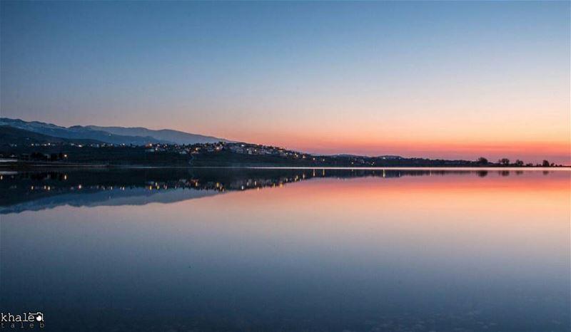 بحيرة الكواشرة غروب هذا اليوم ❤Canon 70D | iso320 |6sec| f22 @18mm ■¤¤¤□