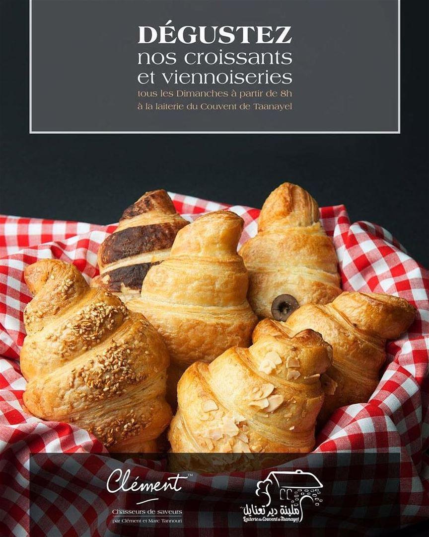 Dégustez nos croissants et viennoiseries tous les Dimanches à partir de 8h... (Jesuit Convent Deyr Taanayel - دير سيدة التعزية للآباء اليسوعيين)