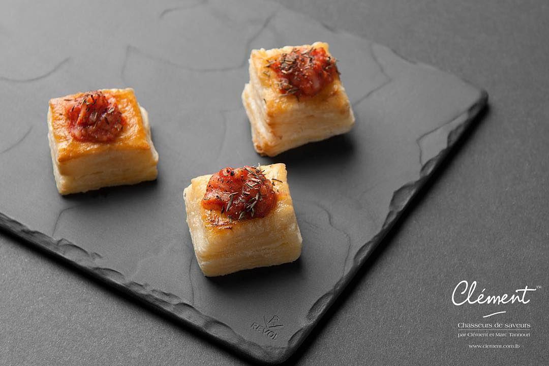 A taste of the french Provence... Our mini Feuilletés à la Provençale are...