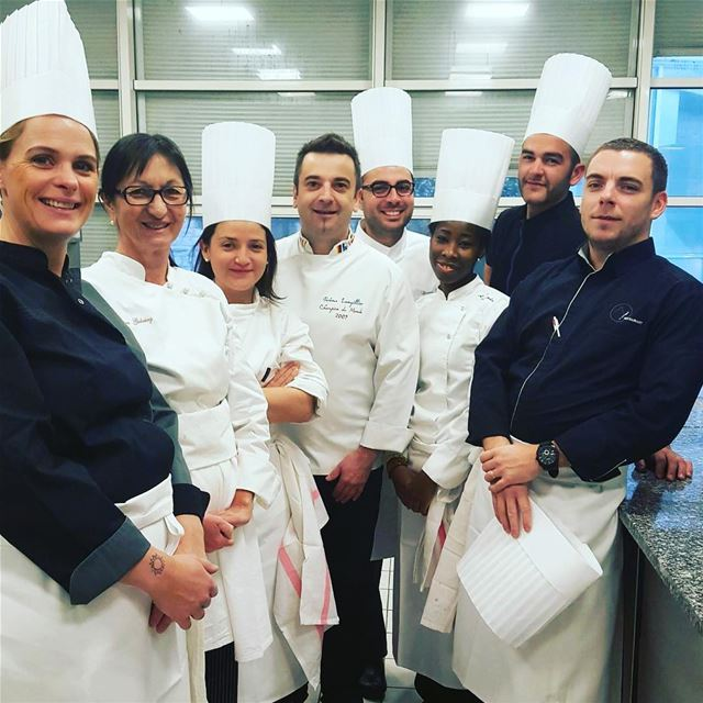 Behind the scenes with Jerome Langilier - World champion pastry chef 🍮🎂🍰 (Institut Paul Bocuse)