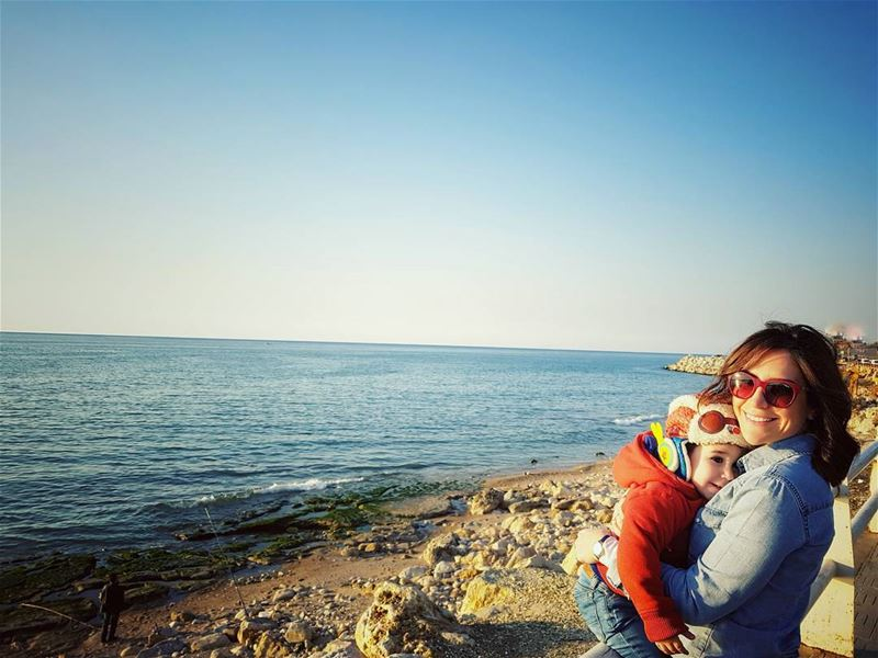 lovestory ❤ mylife myjoy myblessing seaview mywholelife 2yearsold ... (Dbayeh, Mont-Liban, Lebanon)