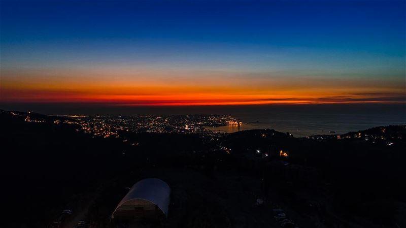 Lebanon's sunset from a Souk El Akel; Beitmisk perspective soukelakel ... (Souk el Akel)