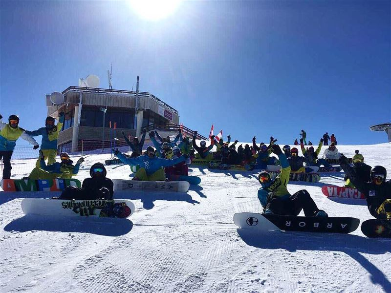Thank you to those who came out yesterday. Hope you enjoyed as we did and... (Mzaar Kfardebian Ski Resort)