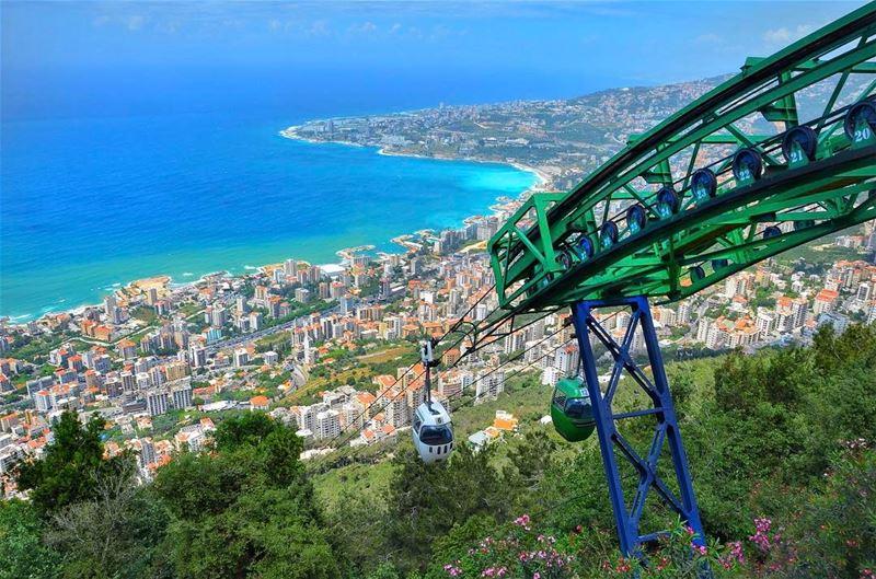 Good morning sunshine! ☀️ I hope everyone is enjoying their weekend 💙 ... (Harîssa, Mont-Liban, Lebanon)