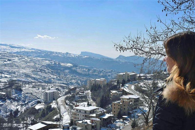 blessed 💙🙏❄️__________________________________ whatsuplebanon ... (Ehden, Lebanon)