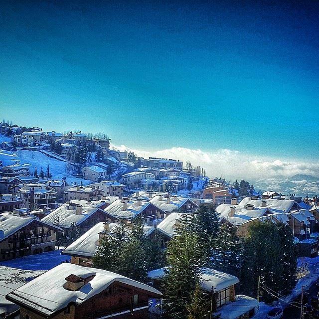 lebanon faraya winter whitesnow snowflakes cozy ...
