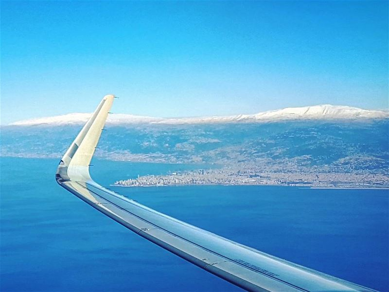 Reluctant Departure turningaway departure windowseat etihad ... (Beirut, Lebanon)