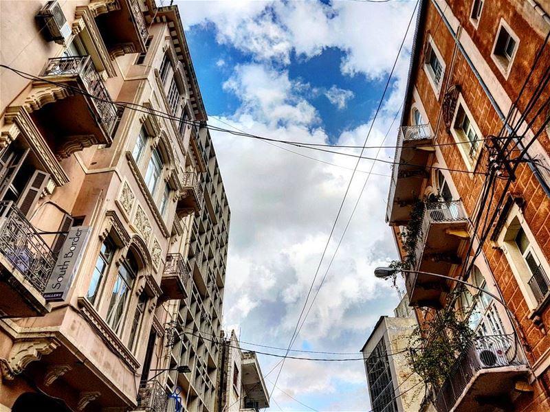 Breathe alwayslookingup backagain afternoon drive gemmayze lebanese ... (Beirut, Lebanon)