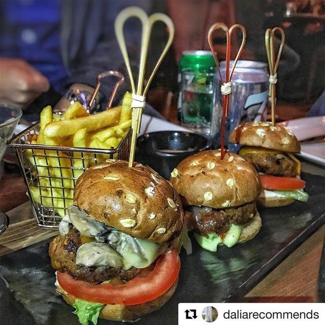 Repost @daliarecommends Mini burgers 😍 daliarecommendsbeirut jackieo ...