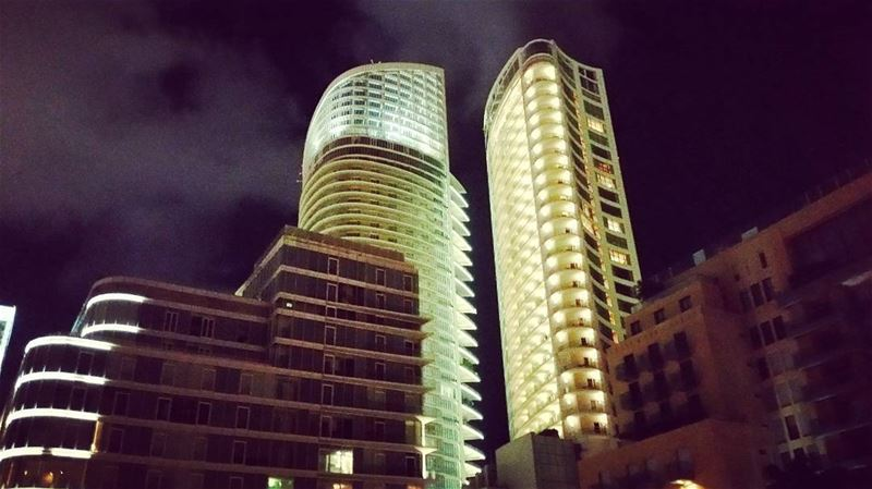 Sirens beautiful night landscapes architecture nightlife citylife ... (Beirut, Lebanon)