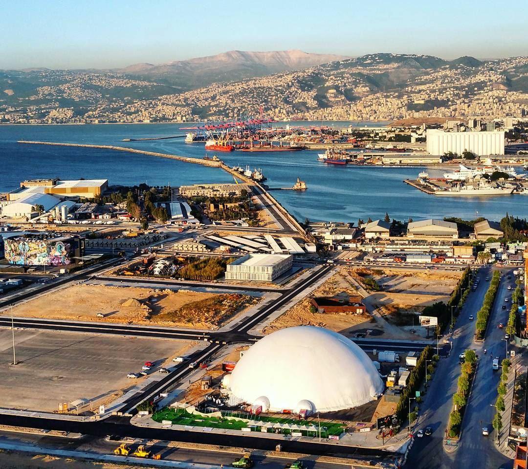 Space Port beirutport urban landscapes architecture citylife ... (Beirut, Lebanon)
