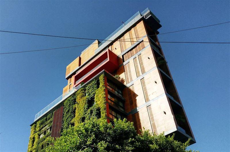 Living Space surreal urban landscapes architecture citylife ... (Mar Mikhael, Beirut)
