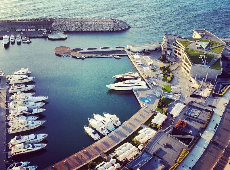 Bay Loot yacht zaytunabay marina blue architecture design lebanese ... (Beirut, Lebanon)