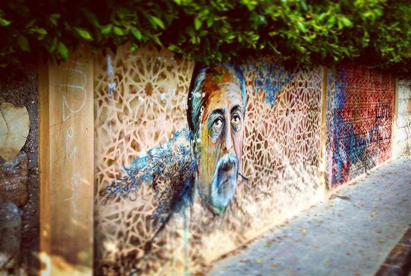 Facial wallart streetart gaffiti citylife streetlife urban lebanese...
