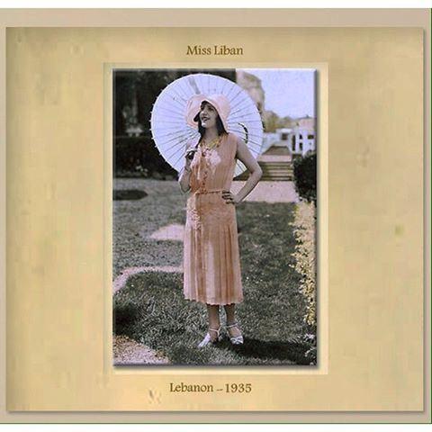 Miss Liban , Lebanon - 1935