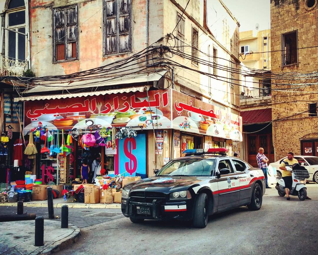 Toy Soldiers cops onthebeat police cars lebanese life urban ...