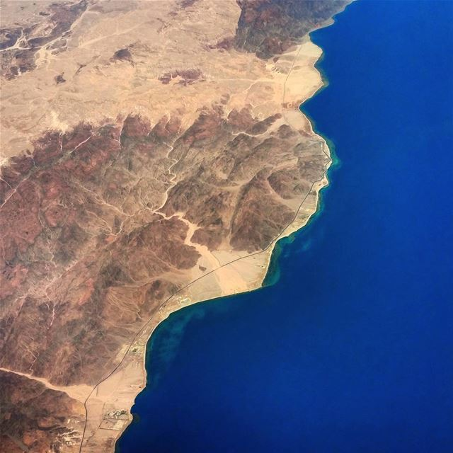 Sinai  sinai  peninsula  red  sea  dreaming  beautiful  arabian  aerial ...