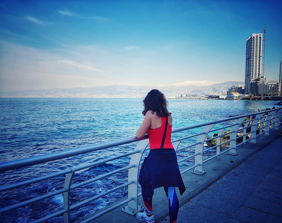 Some priceless mornings 🏙 livelovelebanon livelovebeirut beirutlove ... (Manara Beirut)