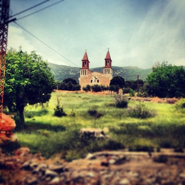 House on the Hill ammiq bekaa valley lebanon lebanon_hdr ...
