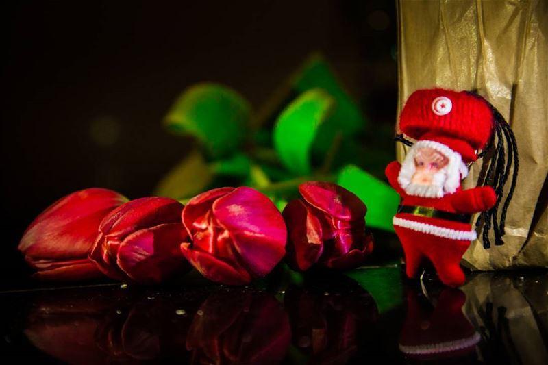 🇹🇳 Tunisian Santa Claus wish you merrychristmas😂🎊 christmas ... (Hamra street , Beirut - شارع الحمرا ، بيروت)