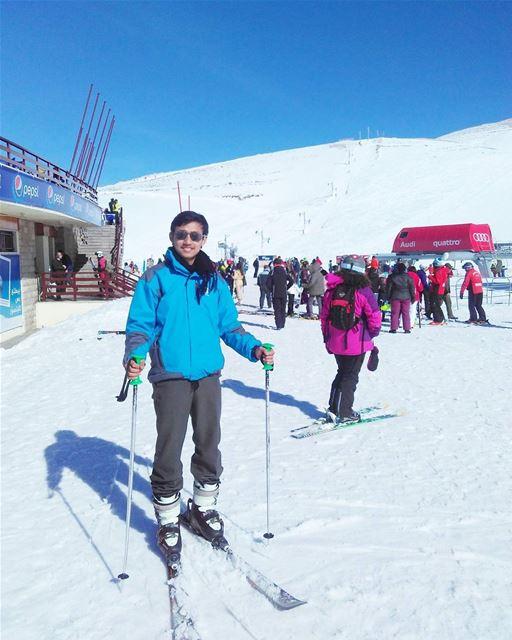 Life is like a journey.Tiada kata lain selain bersyukur atas segala... (Faraya Mzaar ski resort)