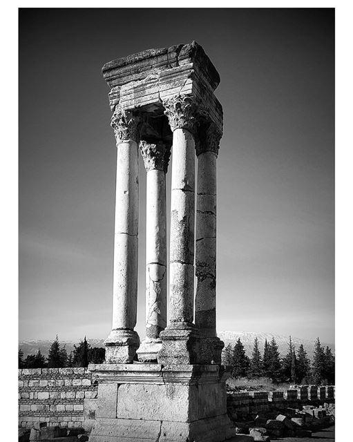 Anjar ruins anjar ruins history ancient livelovebekaa livelovebeirut... (`Anjar, Béqaa, Lebanon)