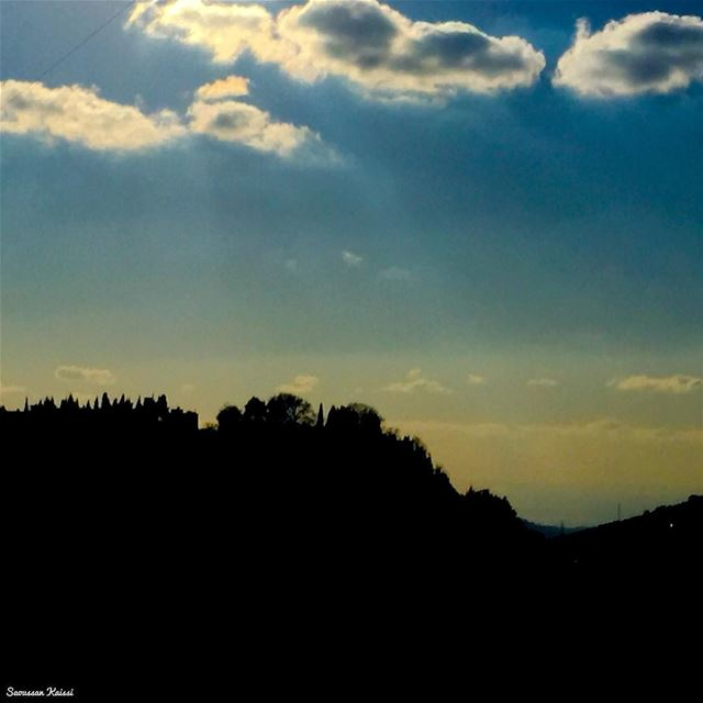 mystery nature colors clouds lebanon ...