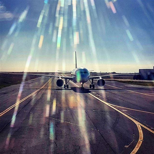 Shine Bright like a Diamond mea middleeastairlines beirut airport ... (Beirut–Rafic Hariri International Airport)