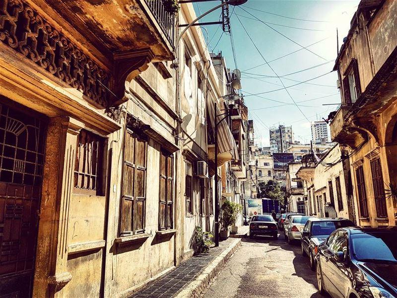 Rue Fully intheneighbourhood thefooddealer oldbeirut mediterranean ... (Mar Michael)