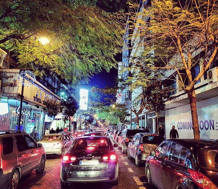 Hamra Crawl crosstowntraffic goslow lebanese citylife urban ... (Beirut, Lebanon)