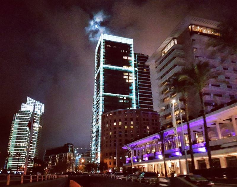 Cazdoora nightlife citylife streetlife driveby urban landscape ... (Beirut, Lebanon)