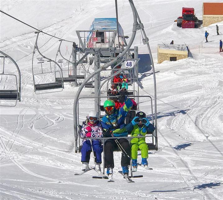 Meet Nonzi and Doudou FLYINGFROGCO FLYINGFROG coolkids ski lebanon ... (Mzaar Ski Resort)
