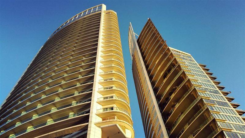 Idols golden hour sundown design architecture fourseasons ... (Beirut, Lebanon)