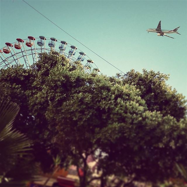 Altered Perception surreal dreamscapes tiltshift lunapark beirut ... (Beirut, Lebanon)