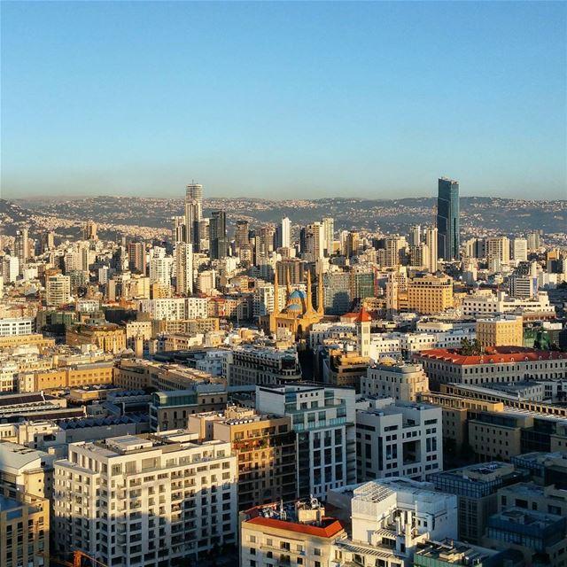 Skylining cityscape beirut skyline attheendoftheday sundown ... (Four Seasons Hotel Beirut)