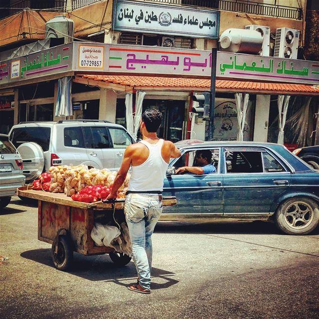Altercation urban lebanese landscapes driveby life saida lebanon ... (Sidon, Lebanon)