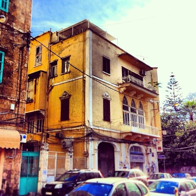Beirut Saffron  traditional  lebanese  architecture  design  colonial ...