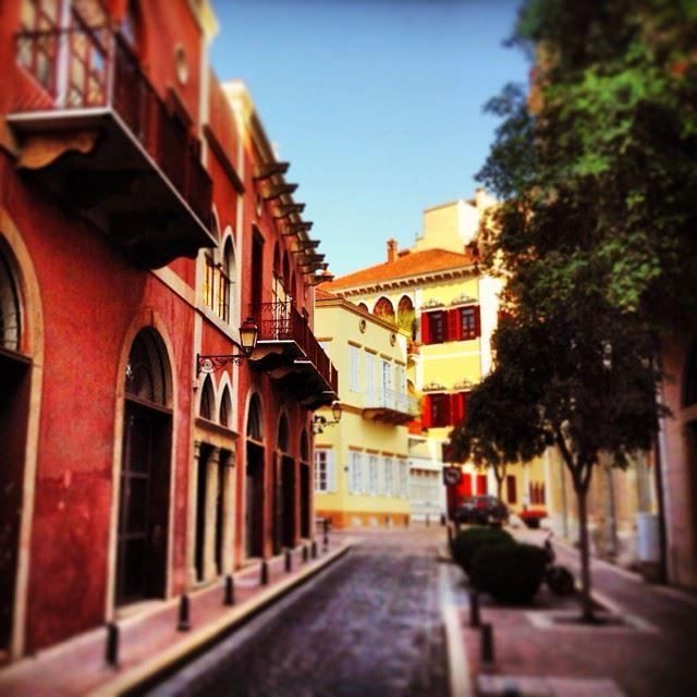 Picture Book beirut neighbourhoods saifi village lebanon traditional...
