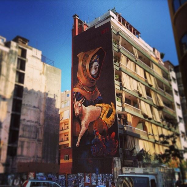 Hamra House of Horror  architecture  streetart  wallart  graffiti  art ...
