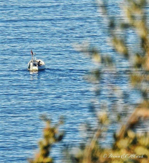 ⛵___ sea seaview sealife waves boat boathouse naturephotography ... (Tripoli, Lebanon)