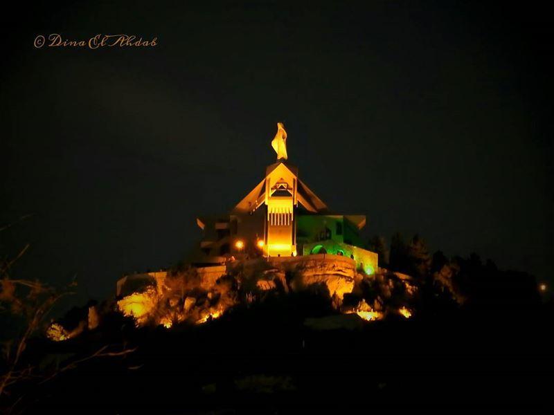 ehden lebanon highaltitude liveloveehden night nightlandscape night... (Ehden, Lebanon)