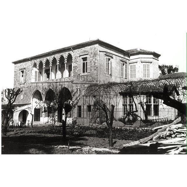 بيروت ١٨٩٠-١٩٠٠