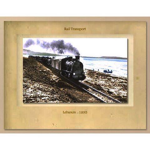 Rail transport lebanon 1895