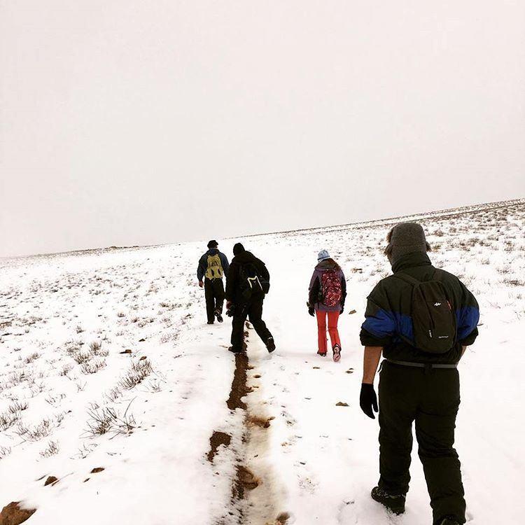 yesterday hiking qornetelsawda highestsummit naturelovers nature...