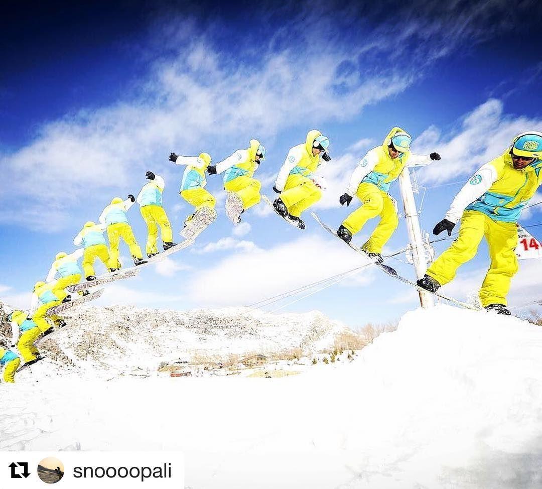 Beast mode in burst mode 🙌🏽🙌🏽🙌🏽 .. beastmode burstmode ... (Mzaar Kfardebian Ski Resort)