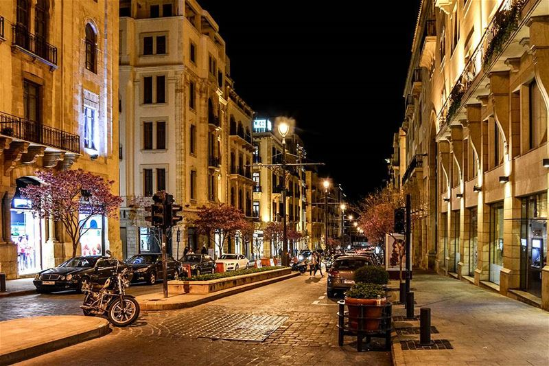 .The Downtown of Beirut at night | good afternoon IGers... (Downtown Beirut)