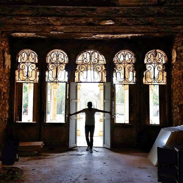The doors we open and close each day decide the lives we live.🏰 ... (Sawfar, Mont-Liban, Lebanon)