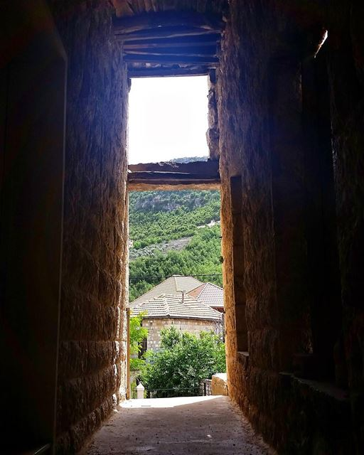 Natural Frame 🏠 livelovedouma livelovebeirut wearelebanon lebanon... (Douma, Liban-Nord, Lebanon)